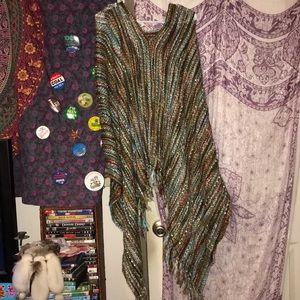 Tops - Boho Knit Cozy Poncho